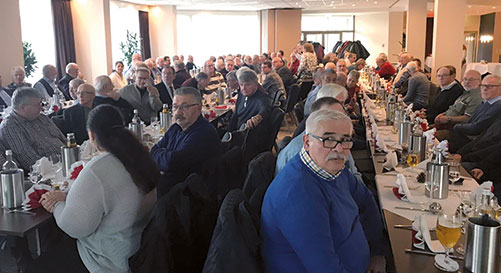 Weihnachtliche Ehemaligenfeier bei der KSM Castings Group in Hildesheim